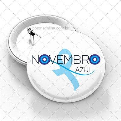 Boton Novembro Azul - Modelo 07
