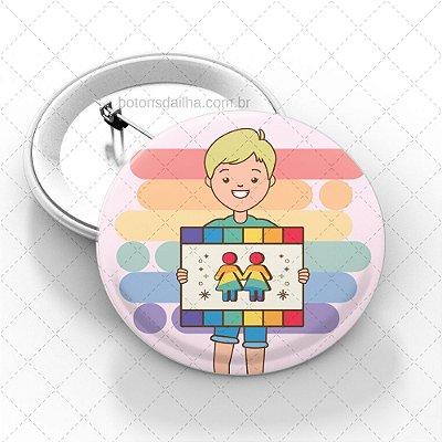 Boton LGBT - Modelo 09