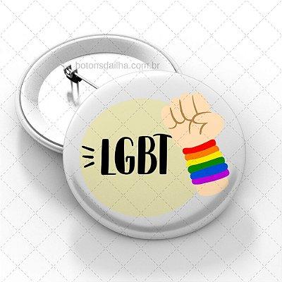 Boton LGBT - Modelo 22