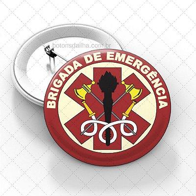 Boton Brigada de Incêndio  - Modelo 02