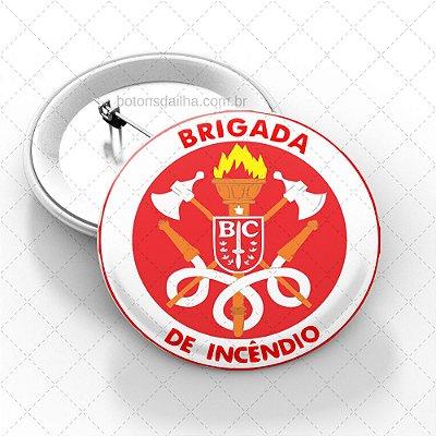 Boton Brigada de Incêndio  - Modelo 10
