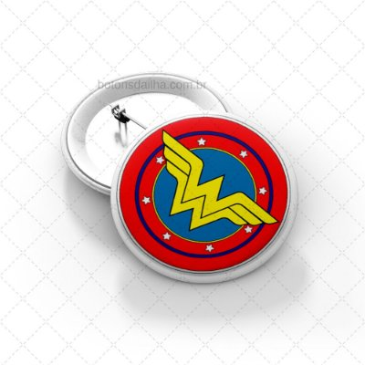 Boton Wonder Woman Badge