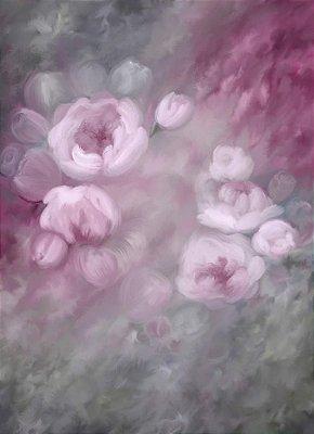38 - fine art  rosa lilas  saturada media 160x220