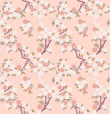 24 Fazer de 160x150 - depositphotos_20392225-stock-illustration-sakura-seamless-pattern