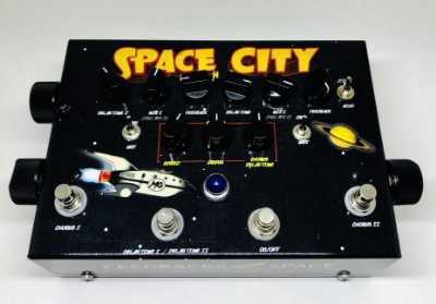 Pedal MG Space City
