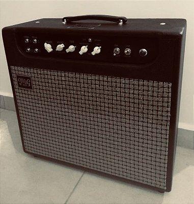 Amplificador MG Rust Never Sleeps - Combo 12w 1x12 - Falante MG Black Dog Ceramico