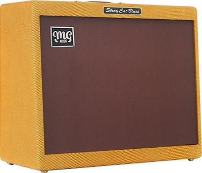 Amplificador MG STRAY CAT BLUES  - Combo 80w  2x12 - Falante MG Black Dog
