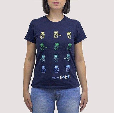 Camiseta Tinbot - Feminina