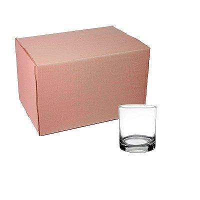 Caixa de Copo Whisky 320 ml Transparente para sublimação