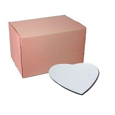 Caixa de Mouse Pad Coração Neoprene