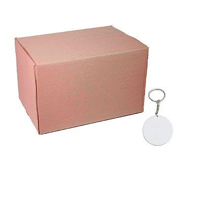 Caixa Chaveiro Polímero Redondo
