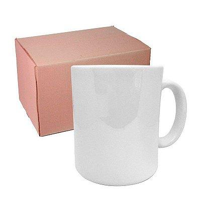 Caixa Caneca Branca Porcelana AA 325 ml para Sublimação