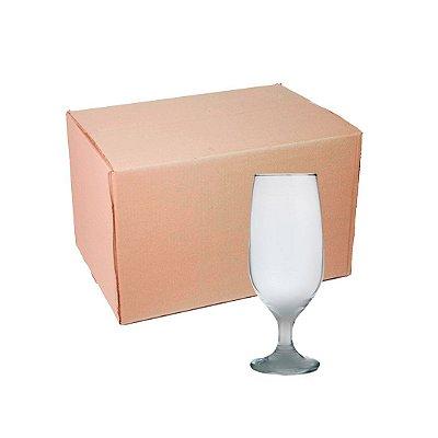 Caixa de Taça Cerveja de Vidro 300 ml Fosco para sublimação