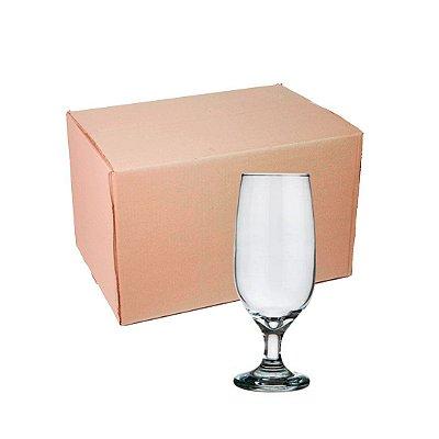 Caixa de Taça Cerveja de Vidro 300 ml Transparente para sublimação