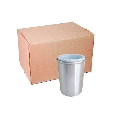 Caixa Porta Lata Alumínio com Isopor Sublimação