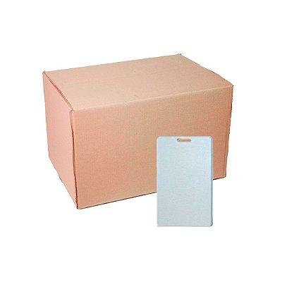 Caixa Crachá Polímero Vertical