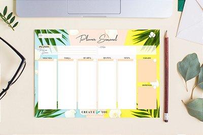Planner Semanal - Verão