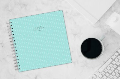 Create Planner - Azul Tiffany