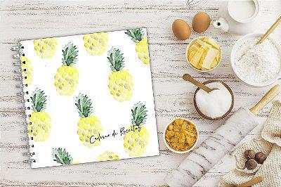 Caderno de Receitas - Abacaxi