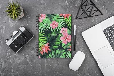 Start Planning - Floral Verde Rosa