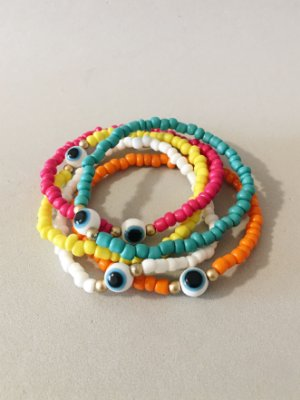 Kit Pulseiras Colors