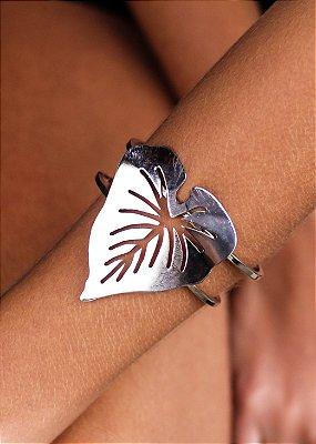 Bracelete Antúrio Niquel