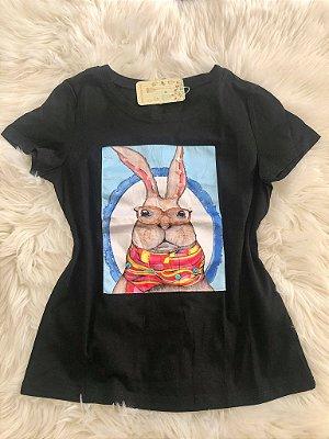 T-Shirt Coelho Black