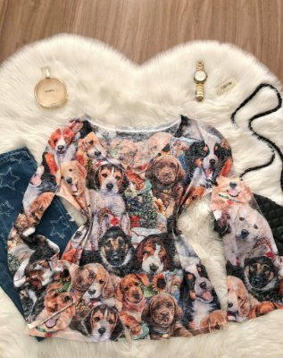 Blusa Love Dog