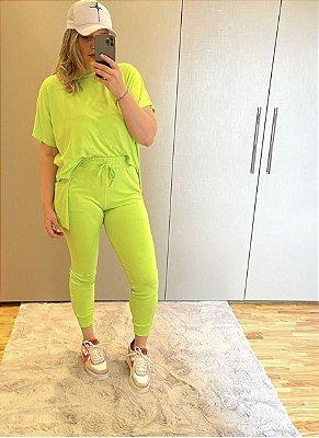 Conjunto Isabela Verde Limão