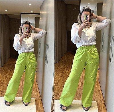 Calça Paula Verde Limão
