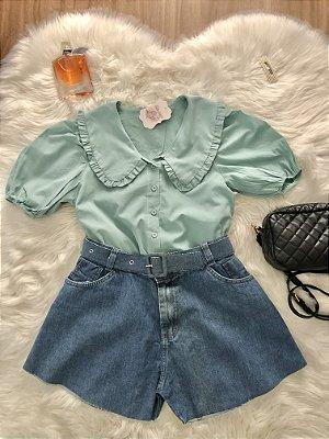 Camisa Aurora Verde