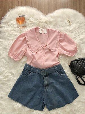 Camisa Aurora Rosa