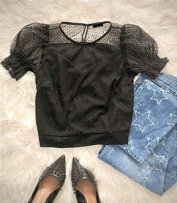 Blusa Bianca Black