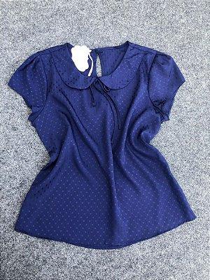 Blusa Mila Azul Marinho