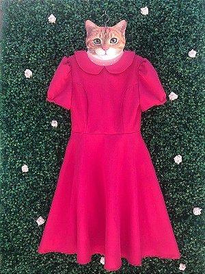 Vestido Bella Fúcsia