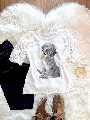 Blusa Pet Labrador
