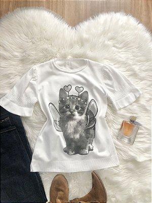 Blusa Pet Gata Belinha