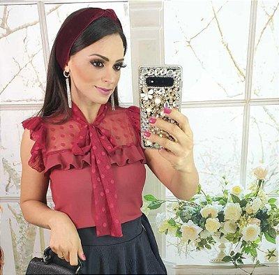 Blusa Sara Bordô