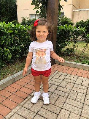 Blusa Dona Raposa Infantil