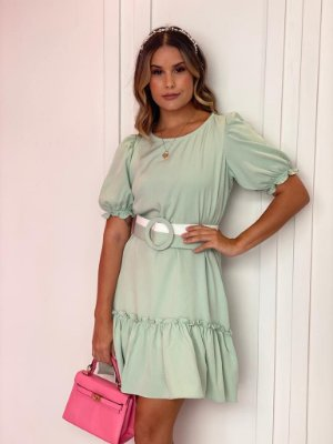 Vestido Valentina Menta