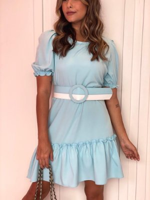 Vestido Valentina Azul