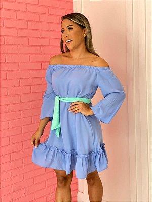 Vestido Amália Azul