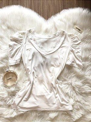 Blusa Nina Off White