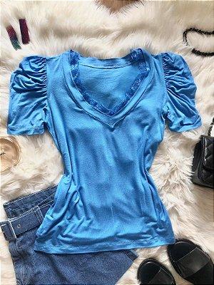 Blusa Nina Azul