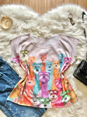 Blusa Dog Colors