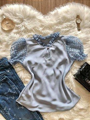 Blusa Dóra Azul