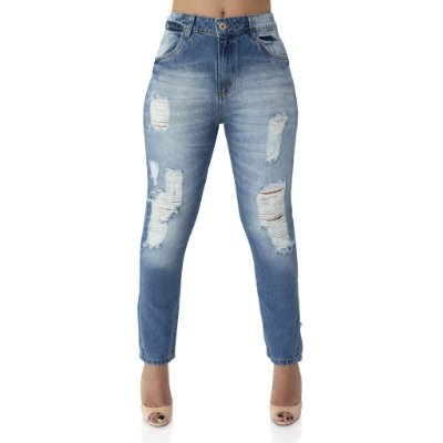 Calça Jeans Feminina Cigarret Girl Friend Ref. 4664