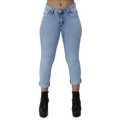 Calça Jeans Feminina Cigarret cos medio ref. 4770