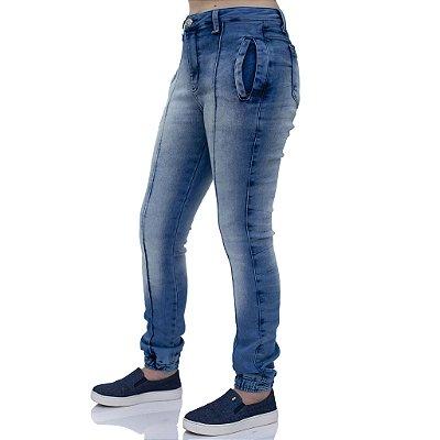 Calça Jeans Feminina Cigarret Ref. 4665