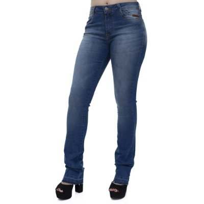 Calça Jeans Feminina Flare Ref. 4677
